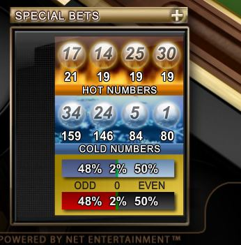 hot and cold online roulette